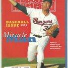 1991 Sports Illustrated Baseball Preview Texas Rangers Nolan Ryan Boston Celtics Larry Bird