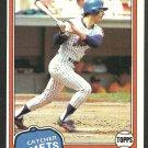 New York Mets Ron Hodges 1981 Topps Baseball Card 537 nr mt