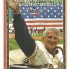 2006 Boston Red Sox Pocket Schedule Johnny Pesky Comcast