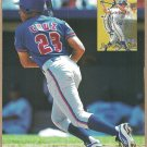 Toronto Blue Jays Jose Cruz Florida Marlins Kevin Brown 1998 Pinup Photos 8x10
