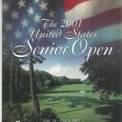 2001 U.S. Senior Open Official Program Salem Country Club MA Mass.