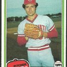 Cincinnati Reds Paul Moskau 1981 Topps Baseball Card 546 nr mt