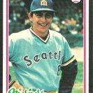Seattle Mariners Carlos Lopez 1978 Topps Baseball Card 166 ex/nm