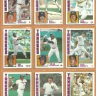 1984 1985 Topps New York Yankees Team Lot 26 diff Lou Piniella Ron Guidry Ken Griffey Rich Gossage