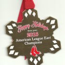2016 Boston Red Sox Team Issued Limited Edition Christmas Ornament