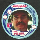 Boston Red Sox Wade Boggs 1988 Jiffy Pop Baseball Card Disc 2