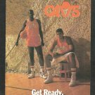 1986 1987 Cleveland Cavaliers Cavs Pocket Schedule