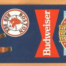 1992 Boston Red Sox Budweiser Pocket Schedule