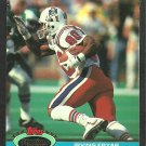 New England Patriots Irving Fryar 1991 Topps Stadium Club Football Card 332