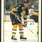 Boston Bruins Glen Featherstone 1991 1992 OPC Premier Hockey Card O Pee Chee 66