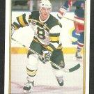 Boston Bruins Craig Janney 1991 1992 OPC Premier Hockey Card O Pee Chee 93