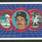 1986 New York Yankees Don Mattingly Sportflics Redemption Coupon