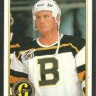 Boston Bruins Peter Douris 1991 1992 OPC Premier O Pee Chee Hockey Card 141
