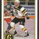 Boston Bruins Bob Carpenter 1991 1992 OPC Premier O Pee Chee Hockey Card 148