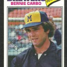 Milwaukee Brewers Bernie Carbo 1977 Topps Baseball Card 159 vg