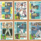 1984 Topps New York Mets Team Lot 23 diff Tom Seaver Mookie Wilson Dave Kingman Rusty Staub