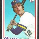 Milwaukee Brewers Larry Haney 1978 Topps Baseball Card 391 vg/ex