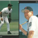 Boston Red Sox John Valentin Jimy Williams 2000 Pinup Photo