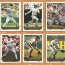 1993 Topps Gold Insert Texas Rangers Team Lot 14 Rafael Palmeiro Dean Palmer Kevin Brown Jose Guzman