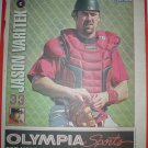 Boston Red Sox Jason Varitek 2005 Newspaper Poster
