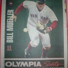 Boston Red Sox Bill Mueller 2005 Newspaper Poster