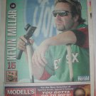 Boston Red Sox Kevin Millar 2005 Newspaper Poster