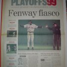 1999 Boston Globe Sports Section ALCS Game 4 New York Yankees Boston Red Sox