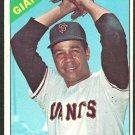 San Francisco Giants Juan Marichal 1966 Topps Baseball Card 420 vg