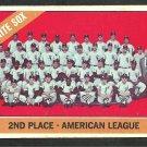Chicago White Sox Team Card 1966 Topps Baseball Card 426 vg