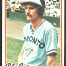 Toronto Blue Jays Steve Staggs 1978 Topps Baseball Card 521 nr mt