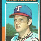 Texas Rangers Bill Hands 1975 Topps Baseball Card 412 good
