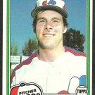 Montreal Expos Dave Palmer 1981 Topps Baseball Card 607 nr mt