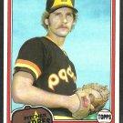 San Diego Padres Dennis Kinney 1981 Topps Baseball Card 599 nr mt