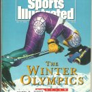 1992 Sports Illustrated Super Bowl Washington Redskins Buffalo Bills Trailblazers Winter Olympics
