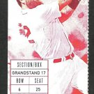 Los Angeles Angels Boston Red Sox 2015 Ticket Mike Napoli HR Xander Bogarts Wade Miley