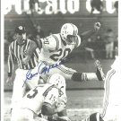 AFL Boston Patriots Gino Cappelletti Autograph Signed Photo 8x10 American Football League