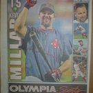 Boston Red Sox Kevin Millar 2004 Newspaper Poster