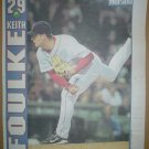 Boston Red Sox Keith Foulke 2004 Newspaper Poster