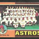 Houston Astros Team Card 1975 Topps Baseball Card 487 good unmarked checklist