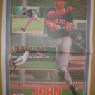 Boston Red Sox John Valentin 1995 Newspaper Poster