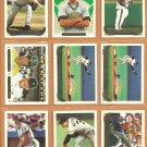 1993 Topps Gold Insert Pittsburgh Pirates Team Lot Bob Walk Jason Kendall RC Doug Drabek Jose Lind