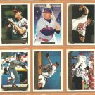 1993 Topps Gold Insert California Angels Team Lot 19 Bert Blyleven Jim Abbott Jim Edmonds RC Gaetti