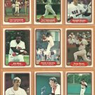 1982 Fleer Boston Red Sox Team Lot 26 Carl Yastrzemski Jim Rice Tony Perez Dennis Eckersley