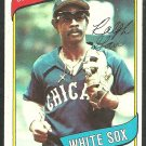 Chicago White Sox Ralph Garr 1980 Topps Baseball Card 272 ex/em