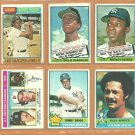 1976 1977 New York Yankees Team Lot 23 Willie Randolph RC Mickey Rivers Bobby Bonds Roy White