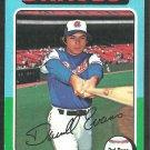 Atlanta Braves Darrell Evans 1975 Topps Baseball Card 475 ex