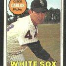 Chicago White Sox Cisco Carlos 1969 Topps Baseball Card 54 good