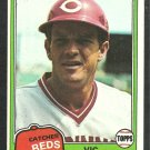 Cincinnati Reds Vic Correll 1981 Topps Baseball Card 628 nr mt