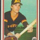 San Diego Padres Tim Flannery 1981 Topps Baseball Card 579 nr mt