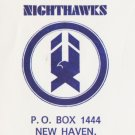 1972 New Haven NightHawks Logo Envelope AHL American Hockey League Connecticut